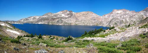 Upper Aero Lake Panorama
