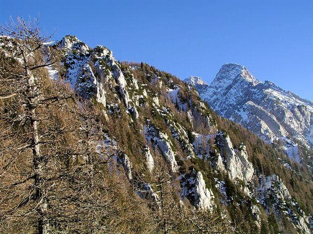 Veliki vrh from Jezersko
