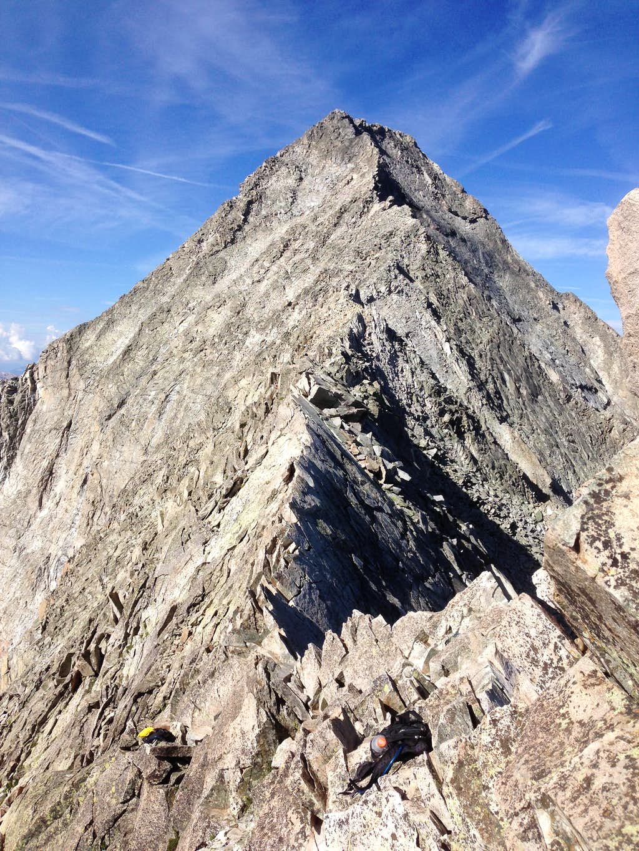 Capitol Peak and Knife Edge