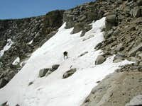 The last and steepest snow...