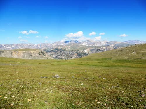 View from Beartooth Pass