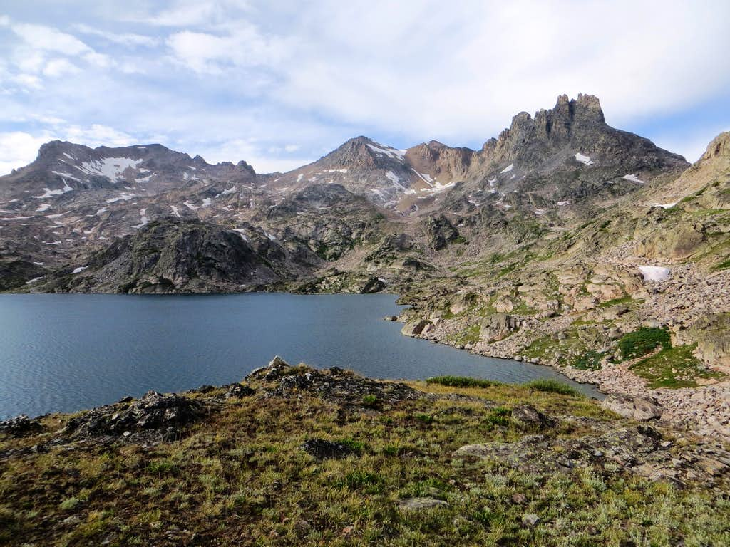 Upper Aero Lake and The Spires