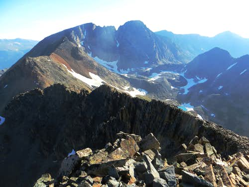 Villard's North Ridge, West Granite, and Granite