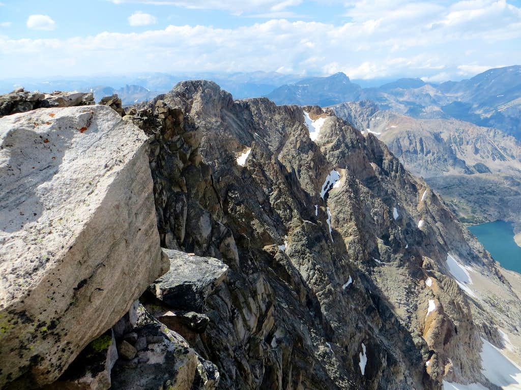 Granite Peak summit views