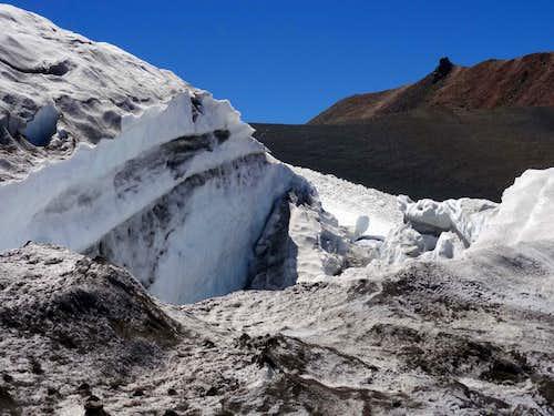 Whitney Glacier Icefalls