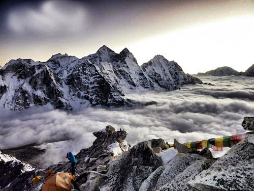 Camp 1 on Ama Dablam