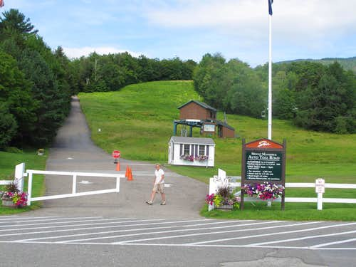 Mount Mansfield Auto Toll Road