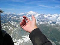 A bloody memory from climbing...