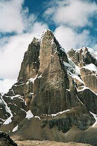 The sharp Patagonia-like...