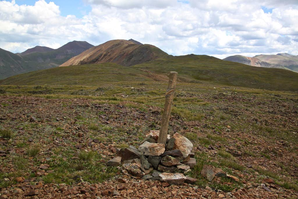 Cairn on the southern approach