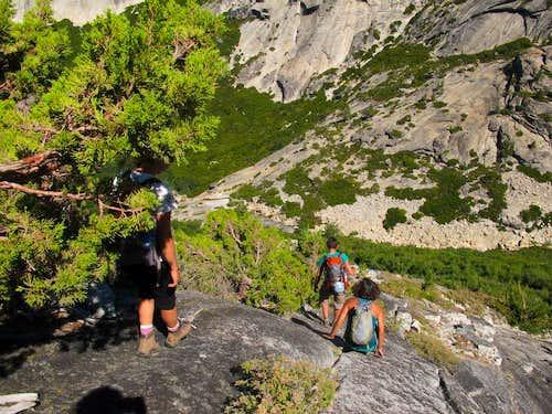 Tenaya Canyon Descent a Success!