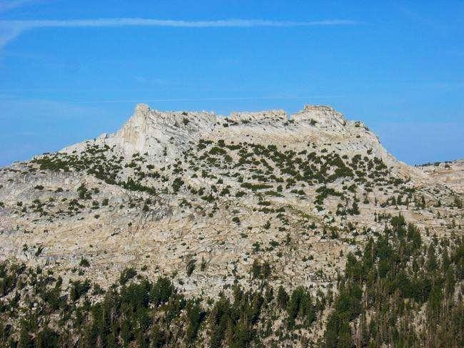 Tresidder Peak as seen from...