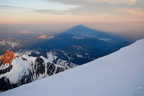 Mont Blanc summit bivvy