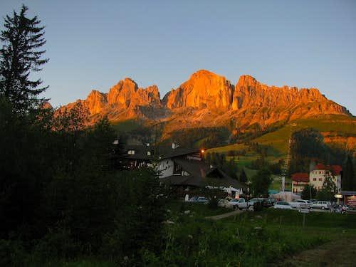 Passo di Costalunga and Rosengarten