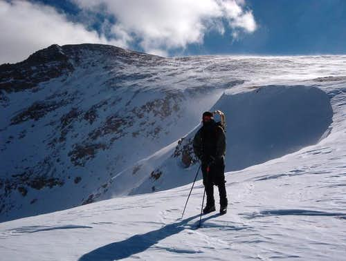 Direct route to the summit