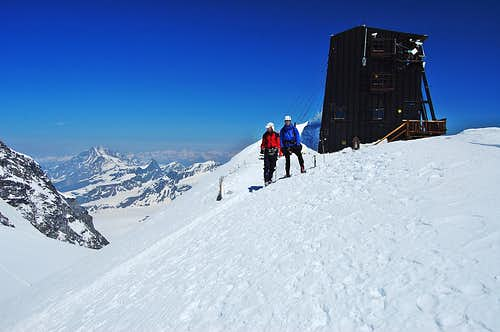 Margherita Hut 4556m