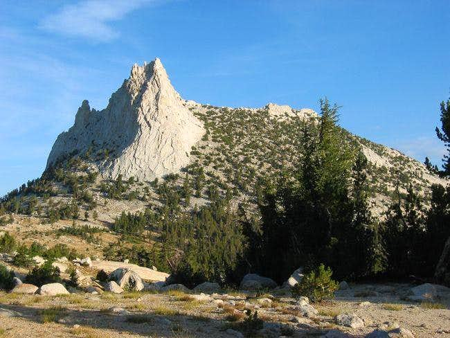 Cathedral Peak as seen from...