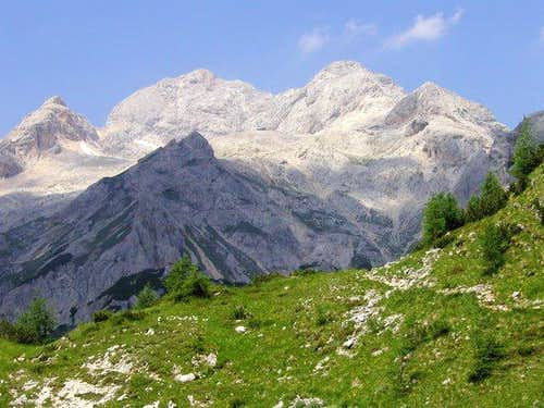 Triglav from the route on...