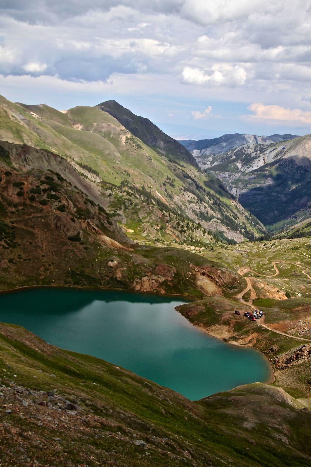 Mt. Abrams and Lake Como