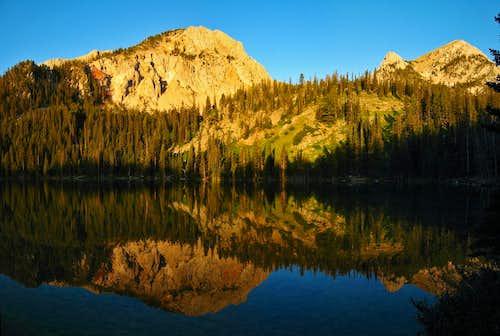 Fairy Lake sunrise reflection