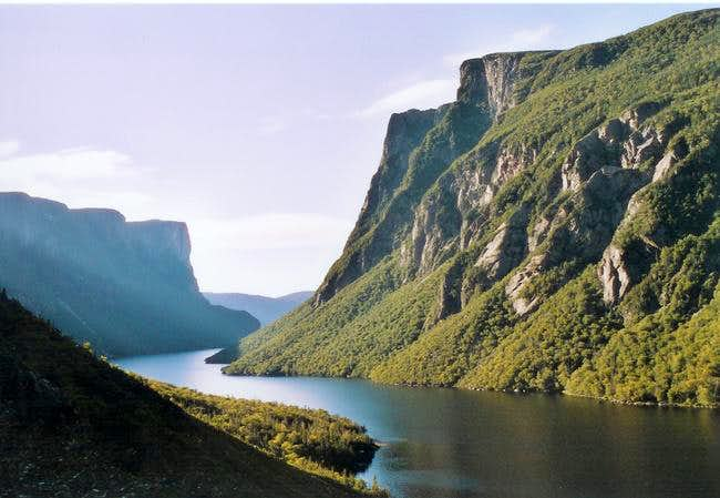 Western brook pound, end of...