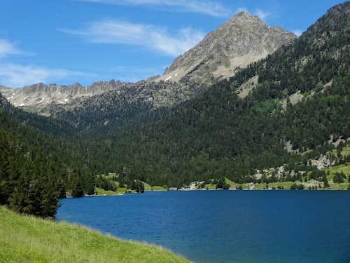 Pic de Bastan from Lac de l'Oule