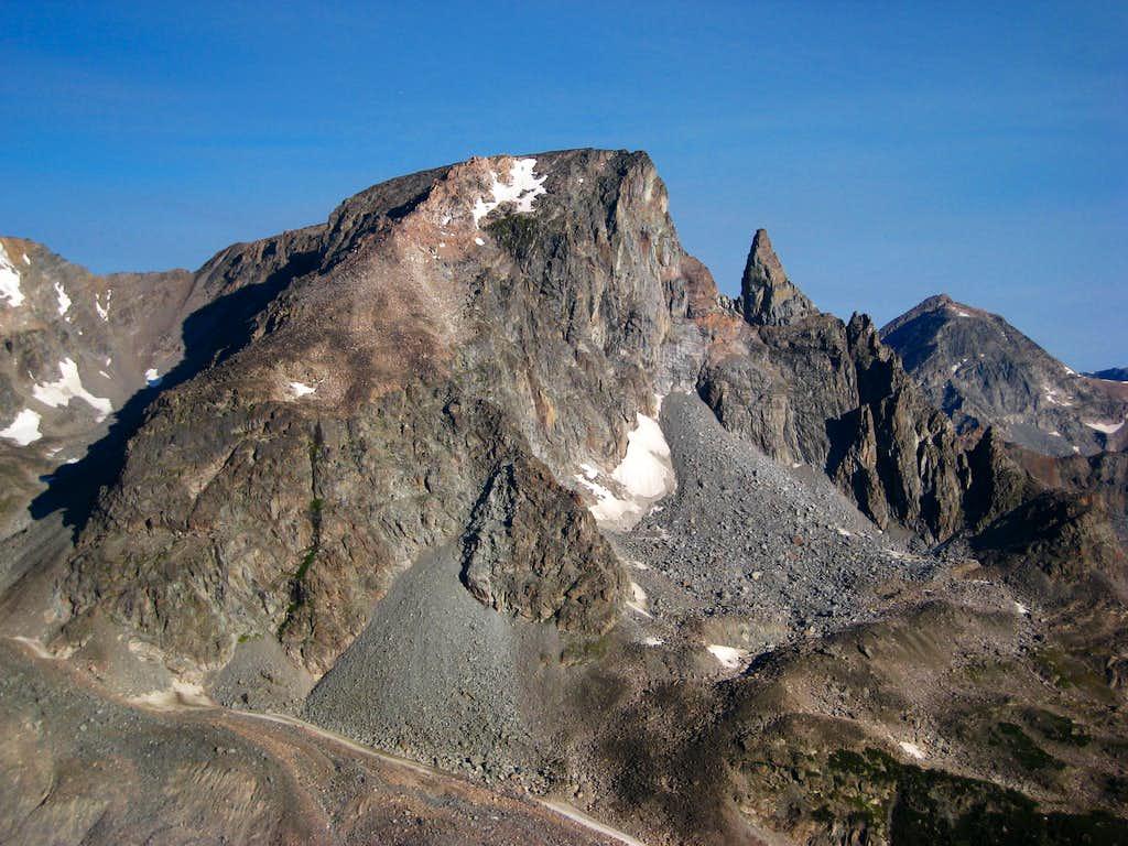 Beartooth Mountain and Bears Tooth