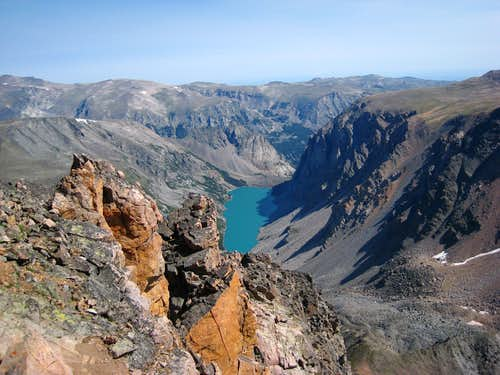 Black Canyon Lake from the NE Ridge