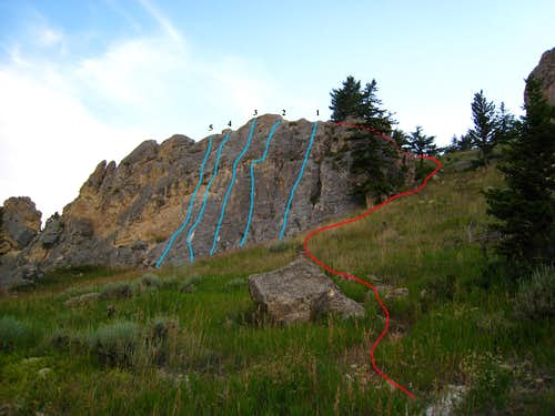 The Ovens - Sport Climbing in Red Lodge, MT