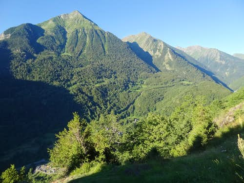 Pic d'Aret and the Aure valley