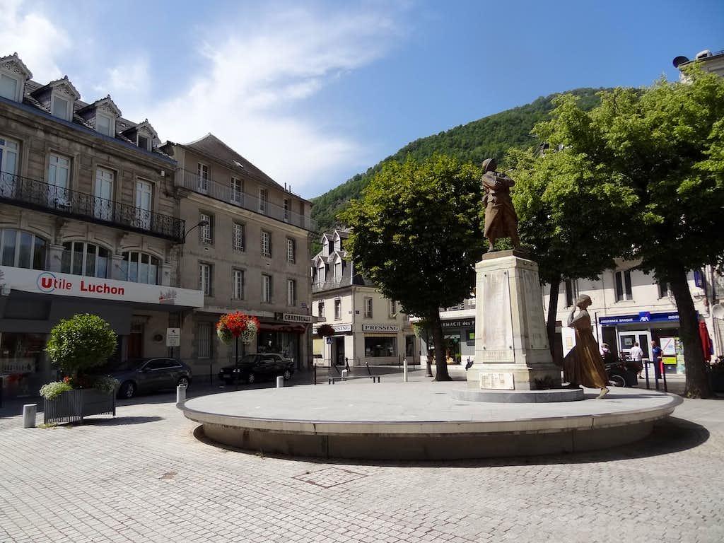 Luchon city centre