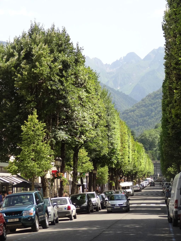 Luchon main street