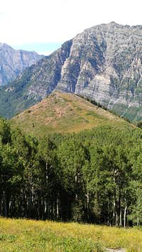 Peak 8753 from Lion Head