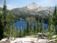 Glens Peak from Spangle Lake