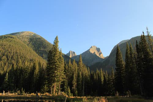 From my Campsite.