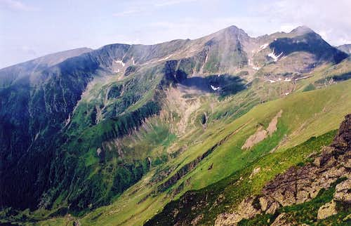 Fagaras in green - Boia and...
