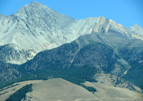Borah Peak west aspect