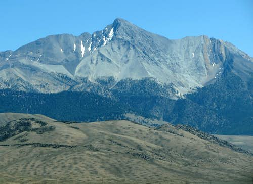 Borah Peak north aspect