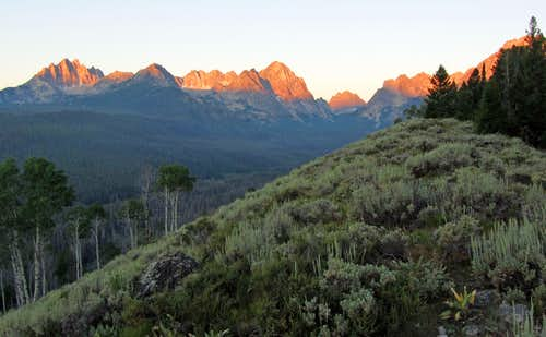 Sawtooth sunrise