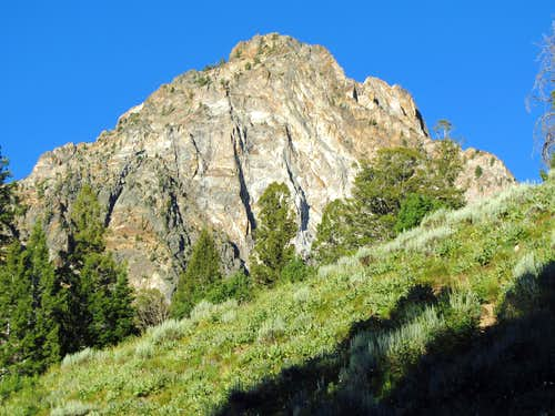Ridge below Thompson Peak