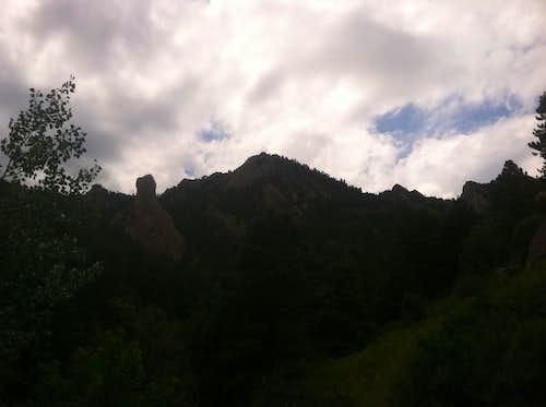 Bear Peak from South Mesa TH