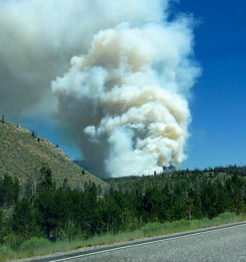 210 Road Fire