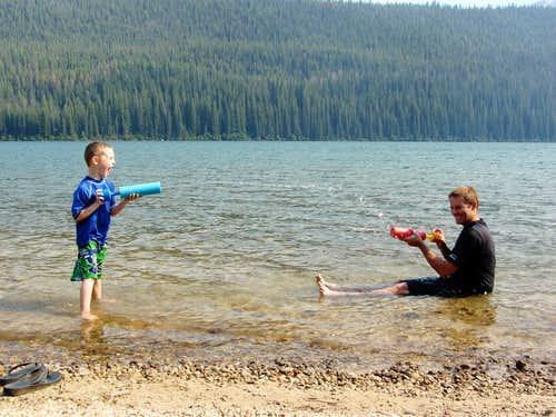 Stanley Lake water fight