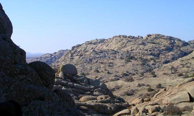 Charons Garden Mountain seen...