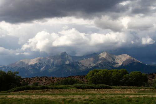 Stormy Blanca Peak