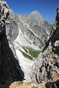 Montaz from Lavianl dell Orso notch