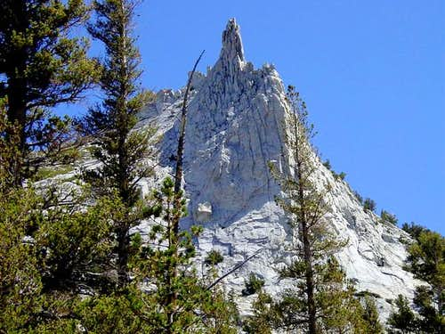 Cathedral from the JMT, Aug...
