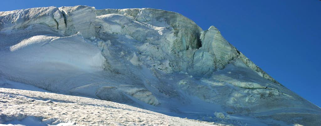Glaciers of the Monte Rosa