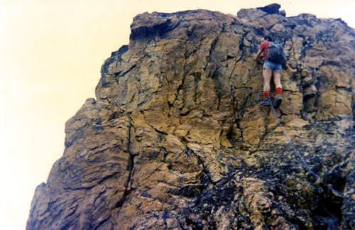 All Routes & Variants South-southwest Buttress 1974