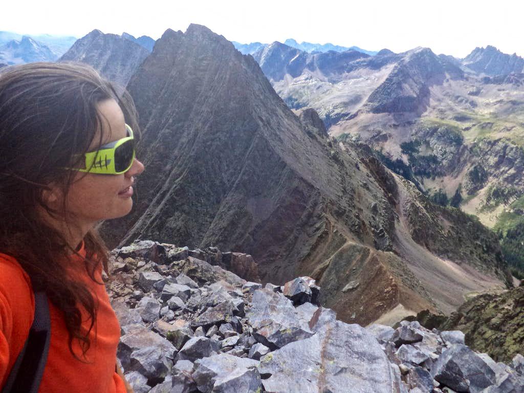 Summit o Arrow Peak